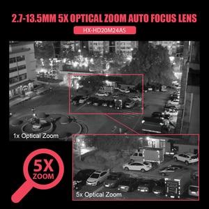 Image 5 - Super Mini 2,5 Inch PTZ Speed Dome WIFI IP Kamera 1080P Outdoor 5X Zoom / 4mm Feste Linse drahtlose Kamera IR 60m Zwei wege Audio