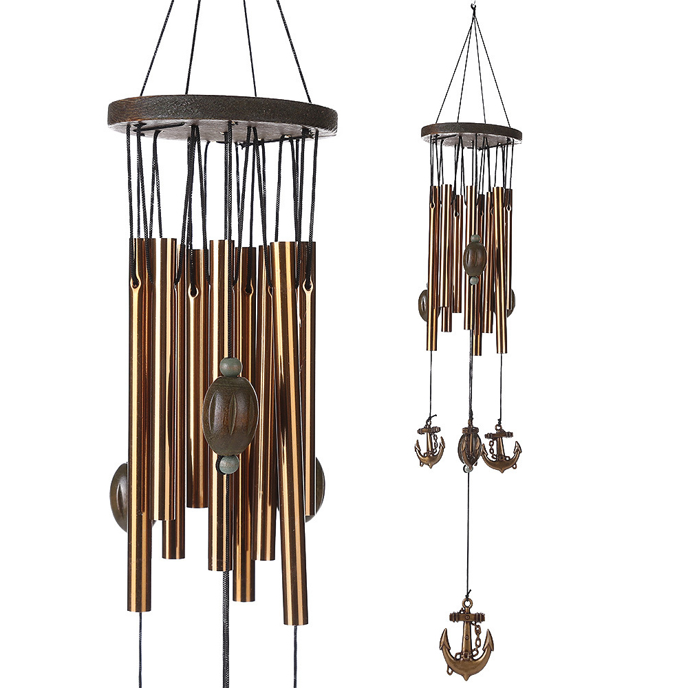 Home Tone Resonant Gong Bass Sound Chapel Church Bell Windchime Wind Chime Retro