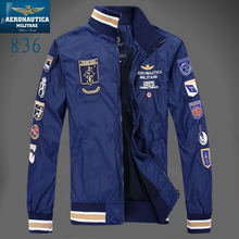 Aeronautica Military Jackets Men's polo Air Force One jackets Italy brand jackets Summer/Spring jacket coat men clothes Z