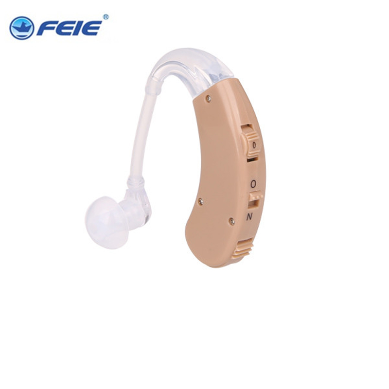 China Outport Product Hearing Aid Ear Device Deafness Sound Machine Adjustable Tone Audiphone Loudly Amplifier S-998 guangzhou feie deaf rechargeable hearing aids mini behind the ear hearing aid s 109s free shipping