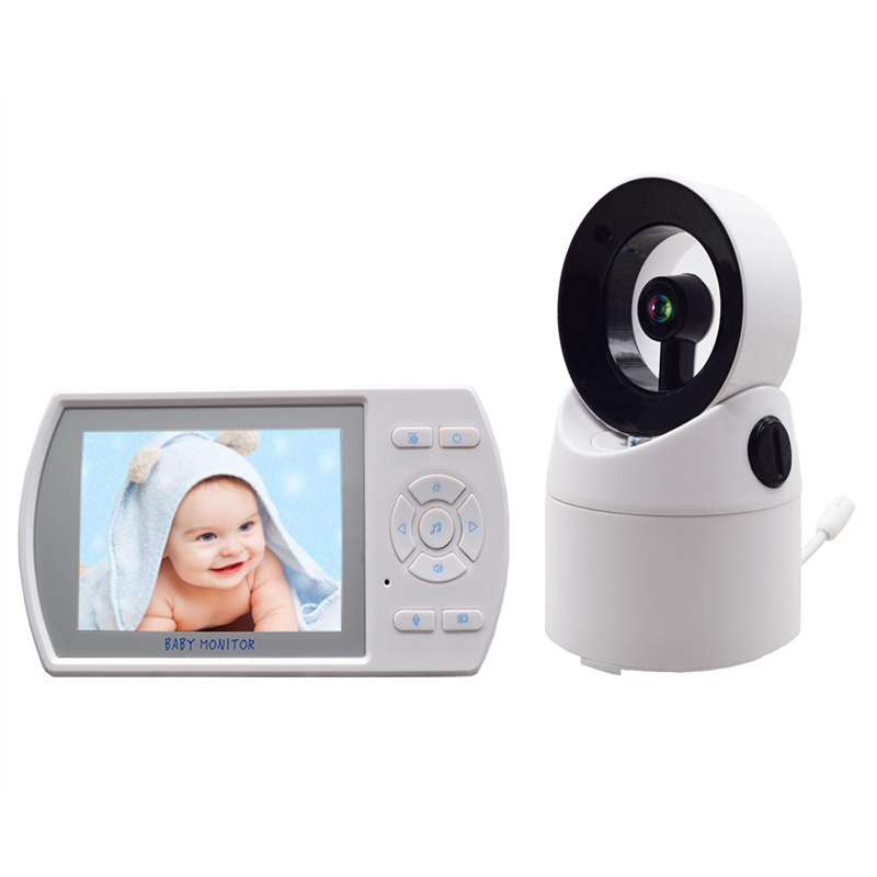 3.5 Inches Rotatable Wireless Infant Monitor Real-Time Baby Care Monitor Temperature Monitoring3.5 Inches Rotatable Wireless Infant Monitor Real-Time Baby Care Monitor Temperature Monitoring