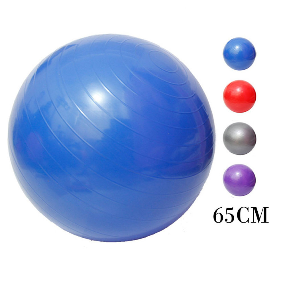 1 pièces balle d'exercice gymnastique Fitness balle exercice Gym Fitness balle entraînement intérieur