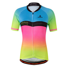 Miloto 2017 Women Cycling Jersey Tops Short Sleeve Summer Bicycle Cycling Clothing mtb Bike Jersey Shirts Maillot Ropa Ciclismo все цены
