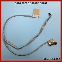 laptop LCD display Cable LED Screen Cable Flex Cable Video cable For Acer Aspire 3820 3820G 3820TG 3820T 50.4HL04.012