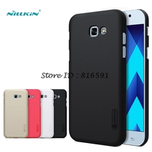 sFor Samsung Galaxy A5 2017 Case sFor Samsung A5 2017 Case Nillkin Frosted Cover For Samsung Galaxy A5 2017 A520 Gift Film