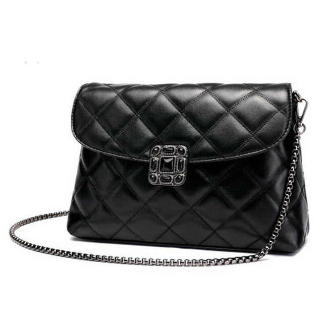 Fasion Women Bag Chain Cross Body Handbags S Handbag Brand Lady Shoulder Black