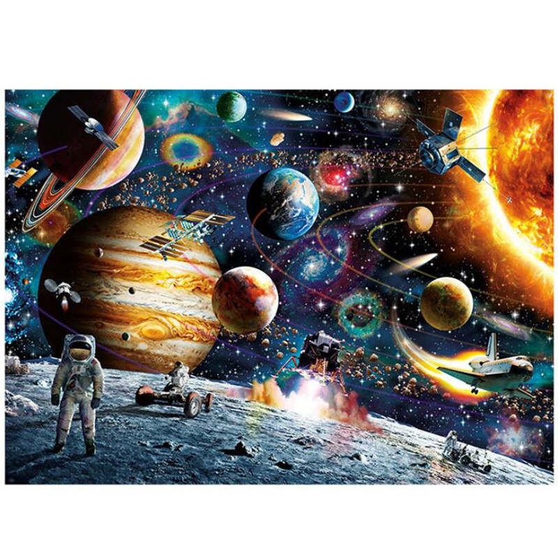 New 1000 Pieces Landscape Puzzles Jigsaw Puzzles Adult Puzzle Wooden Puzzle Cartoon Educational Toys Gifts For Children