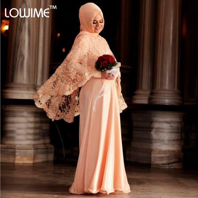 Buy 2015 Turkish Dresses Long Sleeve Muslim Evening Dress Fashion Hijab Long