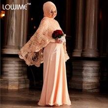 2015 Turkish Dresses Long Sleeve Muslim Evening Dress Fashion Hijab Long Dress with Lace Jacket Pakistan Dress