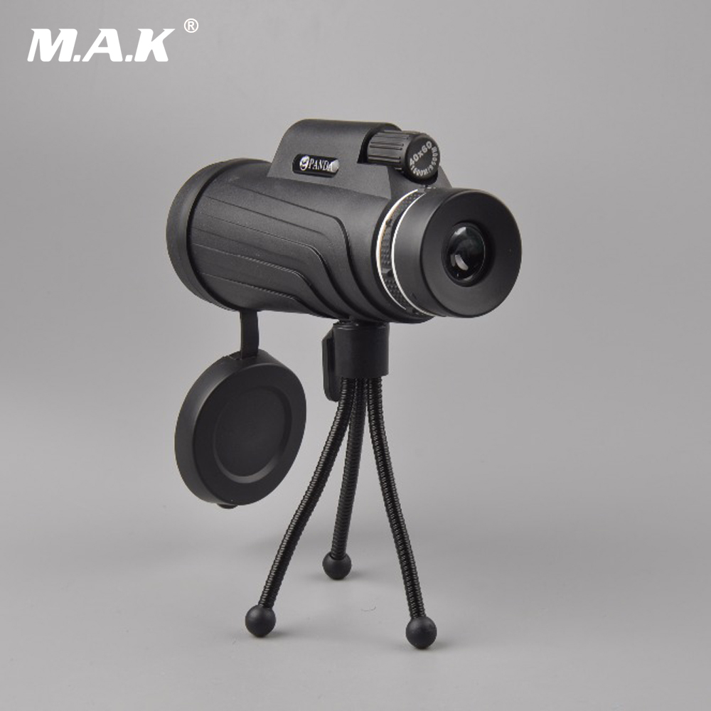 Powerful Monocular Telescopes 40x60 Monocular with TripodTelescopes  Military Professional for Hunting Watching Sports