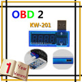 KW-201 Mini USB Port Current and Voltage Reader Meter Test 3.5V-7.0V 0A-3A Blue Scan Tools ,Free Shipping