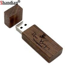 SHANDIAN wooden Usb Flash drive Pendrive 8GB 16GB 32GB U disk Memory Stick