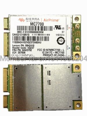 Sierra MC7700 GOBI4000 Mini PCI-e 3G LTE HSPA 100 MB Tarjeta WWAN WLAN Inalámbrica GPS