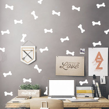Dog Bone Kids Room Baby Room Wall Stickers Children Home Decor Nursery Wall Decals Wall Stickers For Kids Room Wallpaper lacywear жакет gk 46 spl