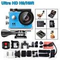 EK EN H9/H9R Ultra HD 4 K WiFi 1080 P 2.0 LCD Esporte vídeo Câmera de Ação Subaquática Capacete Câmeras ir À Prova D' Água pro DV remoto