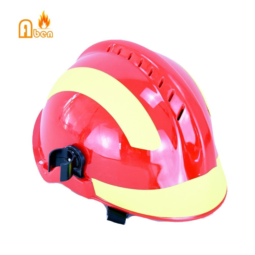 100% QualitäT F2 Rettungs Feuerwehrmann Helm Mit Licht Für Feuerwehrmann Sicherheit Helm Feuer Rettungs Helm Mit Traditionellen Methoden