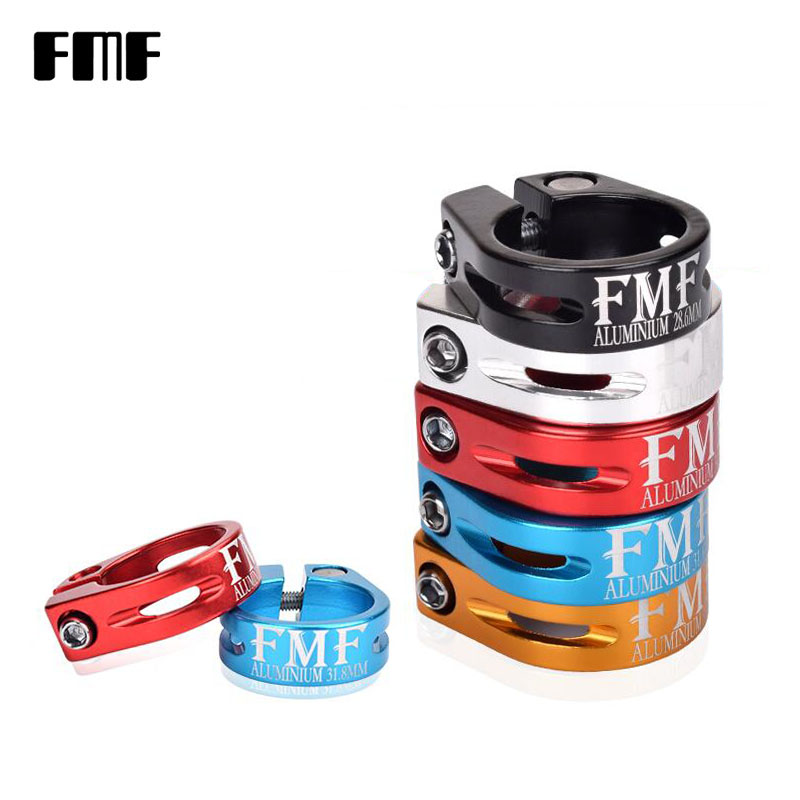 FMF Bicycle Seatposts Clamp Aluminum Clamp MTB Bike Ultralight Tube Clip Cycling Parts Bike Seat Post Clamp 28.6/ 31.8mm 34.9mm