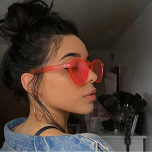 Fashion Integrated Eyewear for Women Sunglasses Summer Shades Red Luxury Brand Designer Men's Sun glasses Candy Color UV400