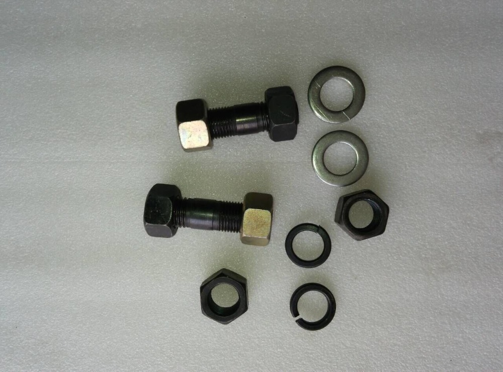 Jinma 454 tractor parts ,the set of bolts with nuts and washers of power steering front axle,  part number: