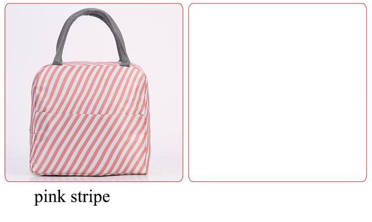 Bonito animal flamingo feminino almoço saco fresco