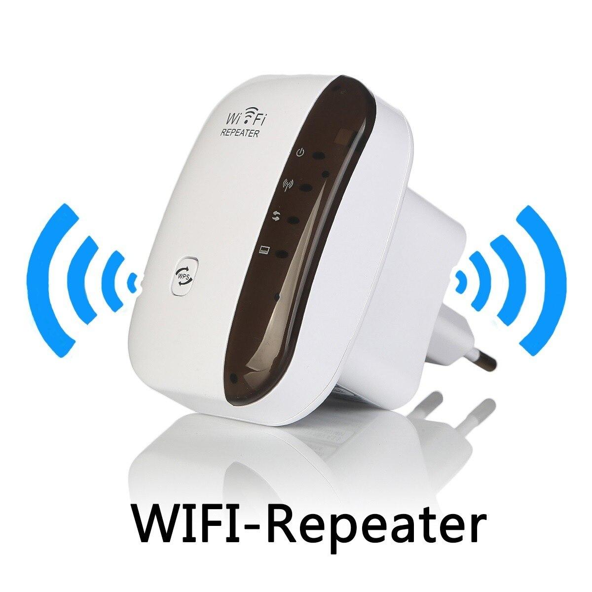 Sans fil WiFi Répéteur Wi-fi Range Extender 300 Mbps Signal Amplificateur 802.11N/B/G Booster Repetidor Wi fi Reapeter point d'accès