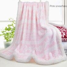 Supersoft Haute en Flanelle Bébé Couverture Polaire Wrap Super Doux En Peluche Bébé Flanelle Couverture de Flanelle Couverture Polaire