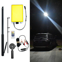 Portable lamp post 46W LED outdoors Wall Lamp IP65 off road plaza Street Light Remote sensor Control Variable colour