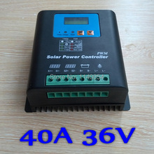 40A 36V Solar Charge Controller 40A Solar Controller 36V PV panel Battery Regulator 40A 36V