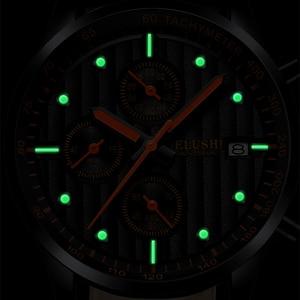 Image 3 - Mens Watches Top Luxury Brand Mens Wristwatch Clock Fashion Quartz Watch Men Sports Waterproof Watches Male Chronograph Clock