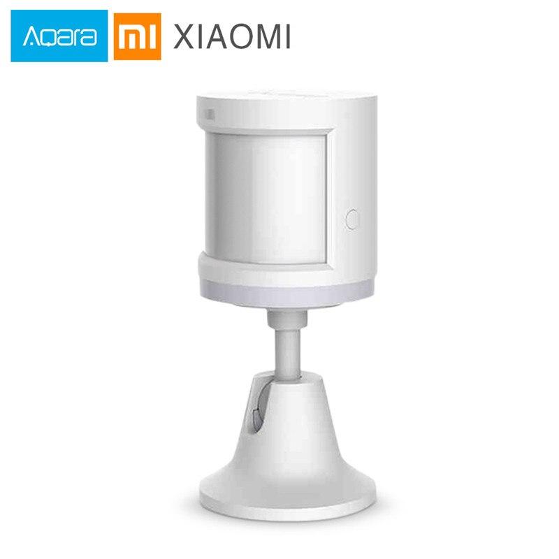 D'origine Xiaomi Aqara Mijia Intelligent Température Corps Humain Capteur PIR Détecteur de Mouvement Mouvement de Sécurité À Domicile Zigbee Connexion