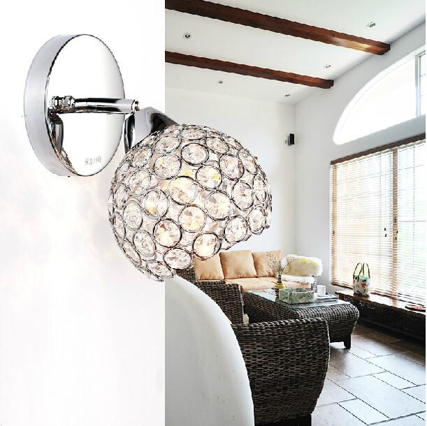 w lmpara de pared moderna de cristal lmpara de pared luces de iluminacin interior del