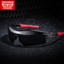 TRIUMPH VISÃO Óculos Profissional óculos de Sol Dos Homens Polaroid Lens  Sports Óculos De Sol para homens UV400 Polarizada Tons . 2569aaa2cd