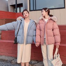 women coat thick parkas winter women down jacket bread loose clothing preppy chic outerwer winter warm jacket(China)