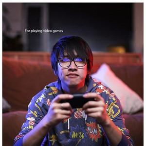 Image 4 - Xiaomi gafas protectoras fotocromáticas Qukan B1 con diseño Modular para la vida diaria, antirayos azules, 35%