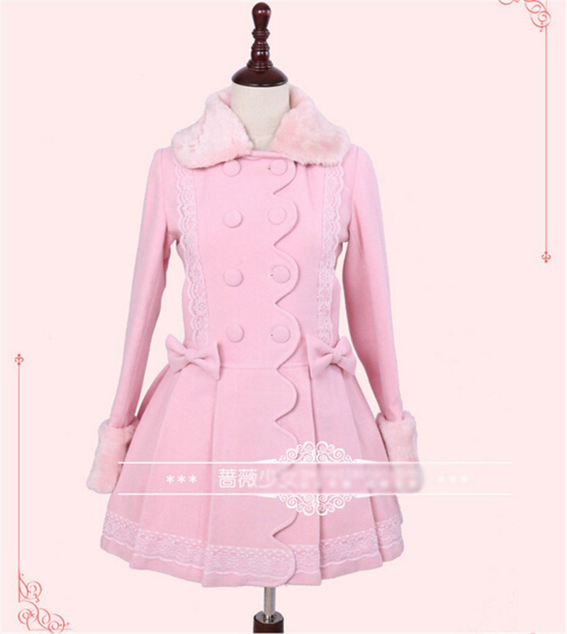 Popular Pink Dress Coat-Buy Cheap Pink Dress Coat lots from China ...