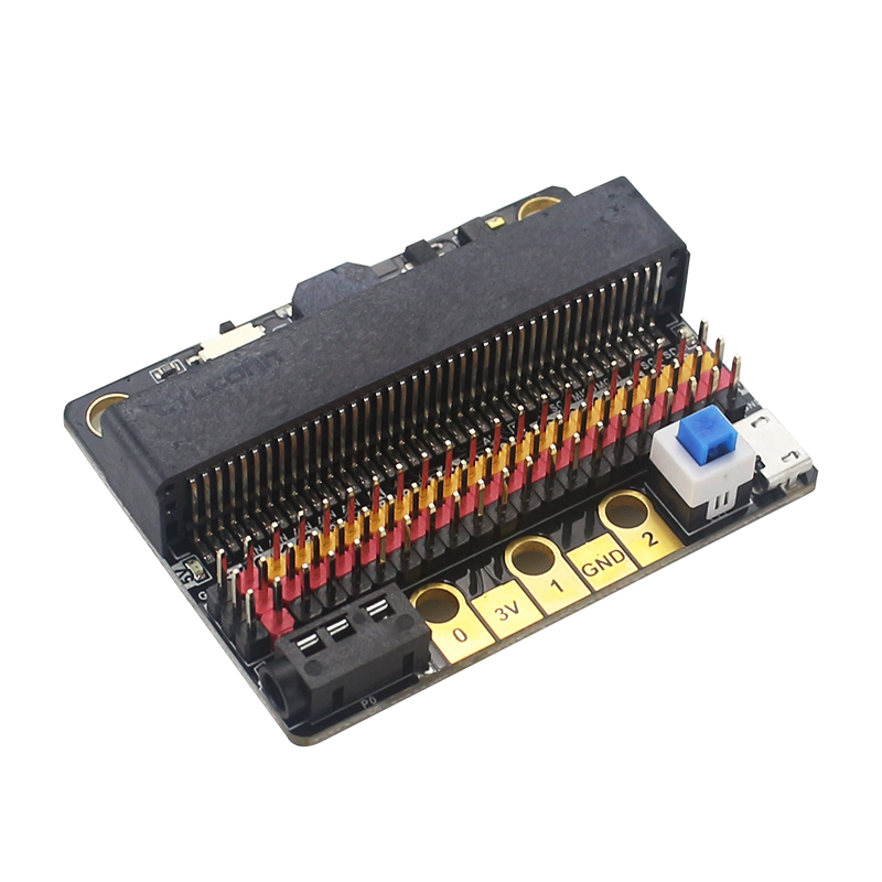 Upgraded IOBIT V2.0 Expansion Board For BBC Micro:bit GPIO Board For Kids Programming Education