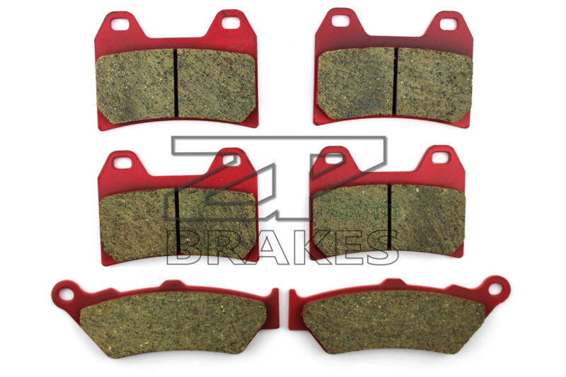 Ceramic Brake Pads Front + Rear For MOTO GUZZI California EV/Special Series 2002-2005 OEM New High Quality ZPMOTO motorcycle brake pads ceramic composite for triumph 800 tiger 2011 2014 front rear oem new high quality zpmoto