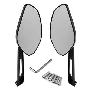 Black Motorcycle Rearview Motorbike Accessories Side Mirror For Ducati Diavel 14 Monster 821 1200 1200S