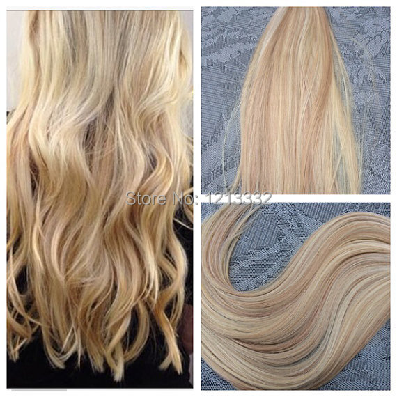 Hot Queen Hair 18 20 22 24inch 100 Skin Weft Hair Extension Remi