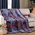 Мультяшном стиле весной и осенью Двойной Одеяло Облако норки кашемира одеяло ватки