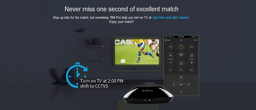 Broadlink RM Pro RM3 2018 Nouvelle Version RM Mini 3 Universel Intelligent IR + RF + Wifi À Distance Contrôleur Pour Ios Android Smart Home 14