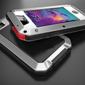 Best quality for iphone 4 4s EXTREME proof Shockproof Dirtproof  Metal alloy case Gorilla Glass