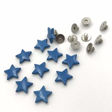 Rock-Clothing Screw Rivets Star Cones Nailhead Leather-Craft Sewing Spots Decorat Punk-Style