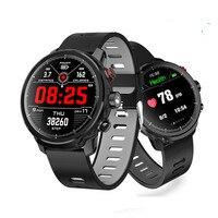 IP68 Водонепроницаемый спортивный шагомер сердечного ритма в режиме реального прогноз погоды Смарт часы в режиме ожидания в течение 100 дней 1,