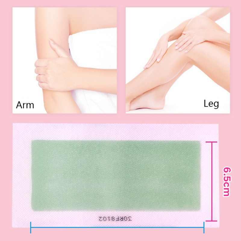 10 adet/kutu Epilasyon Wax Şeritler Erkekler ve Kadınlar Için Vücut El Bacak Kaldır Koltukaltı Saç Kaybı Tüy Dökücü Balmumu Sağlık şımartan Cilt