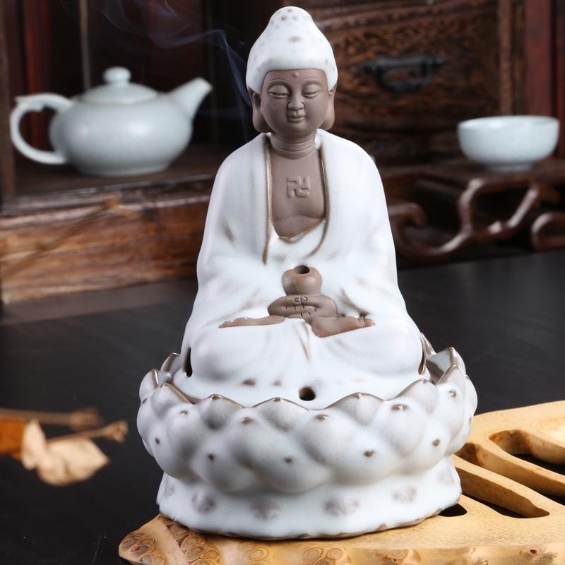 Lotus Buddha The character image Archaize your kiln aroma stove Bedroom home carefully-selected spice arts bag mail