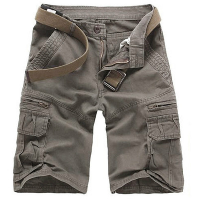 Zuoxiangru New Arrival High Quality Men Camouflage Cargo Bermuda Casual Shorts Multi Pockets Tactical Military Shorts For Men