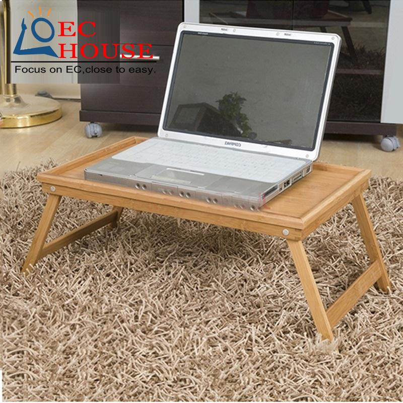 ФОТО Allstate wood bamboo notebook folding comter desk on bed table 3025 FREE SHIPPING
