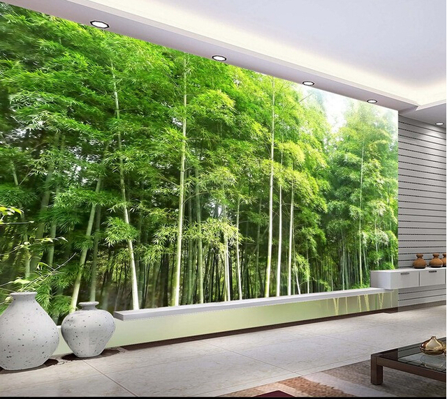 3d Wallpaper Custom Mural Non Woven 3d Room Wallpaper Hd Bamboo
