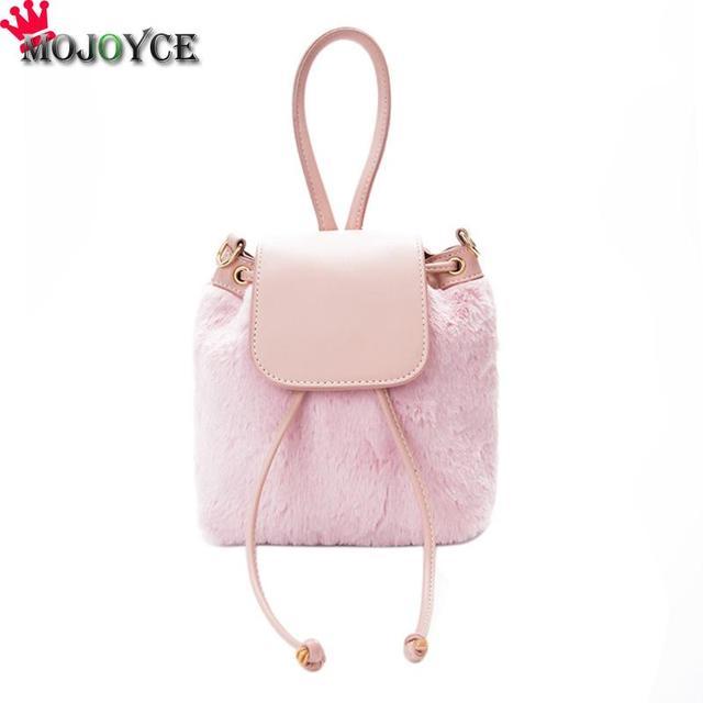 8ef36e8c47f6 Famous Brand Women Plaid Bucket Bag Mini Drawstring Chain Shoulder Bags  Fall Winter Small Felt Cross Body Messenger Bags